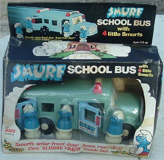 Smurf bus