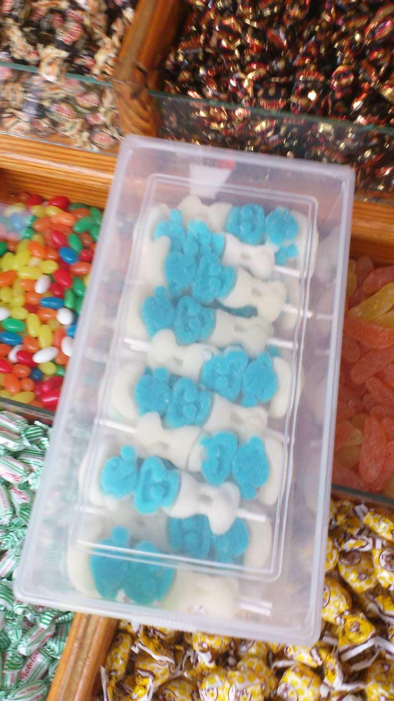 Smurf Candy Jelly